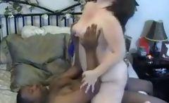 Interracial Fat White Girl and Big Black Cock