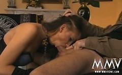 Big ass German slut gets her ass prepared for anal