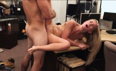 Real amateur country girl fucked in the pawnsop for cash