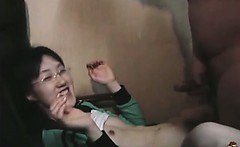 Asian Virgin Fucks A Cock For The First Time
