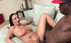 She loves to ride his big fat monster cock.