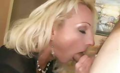 Hot Blond Milf Is Fucked Hard On A Couch