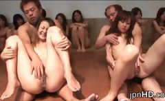 Barely legal Japanese ladies into some