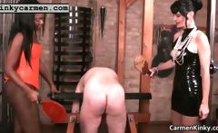 Knockers Carmen ing bdsm hard-core