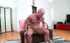 hardcore butt fuck for muscled gay dude