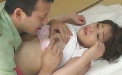 Ageha Aoi Asian doll has crazy sex
